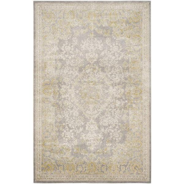 Safavieh Passion Grey Green 7 Ft X 9 Ft Area Rug Pas402d 6 The Home Depot