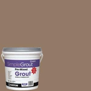 SimpleGrout #105 Earth 1 Gal. Pre-Mixed Grout