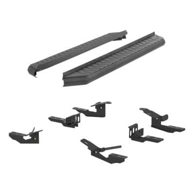 AeroTread 5 x 76-Inch Black Stainless SUV Running Boards, Select Ford Explorer