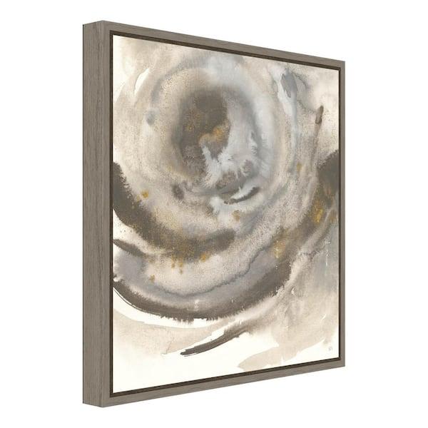 Amanti Art Gold Dust Nebula Ii By Chris Paschke Framed Canvas Wall Art Dsw4079908 The Home Depot