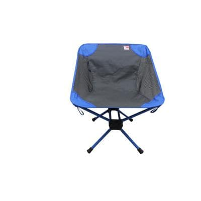 Portable Bi-Rod Stability Lightweight Backpacking Camp Chair with 225 lbs. Capacity