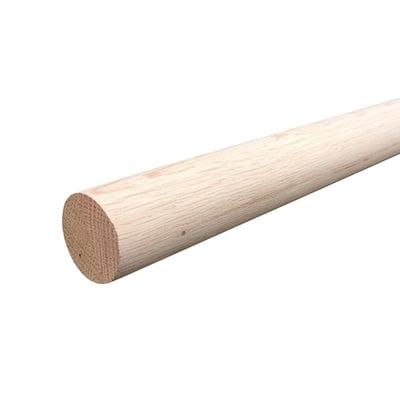 6 ft. Oak Closet Pole