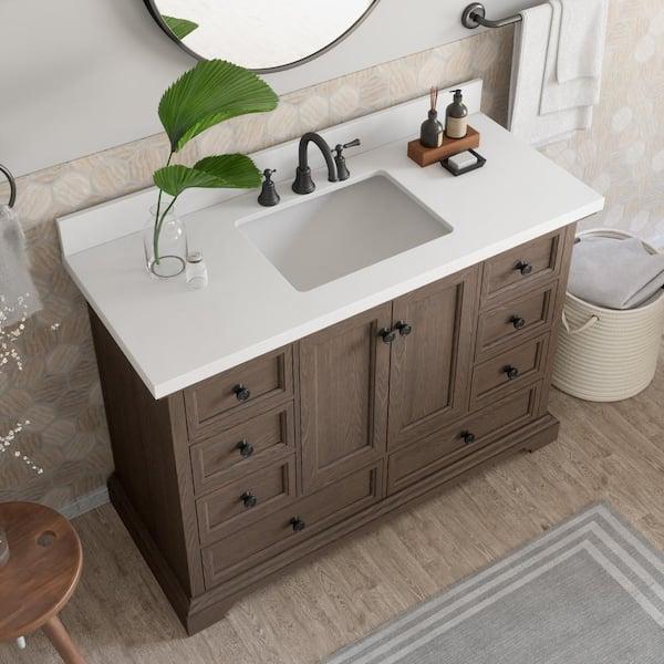 Thomasville Amherst 48 In W X 20 D, Thomasville Bathroom Vanity