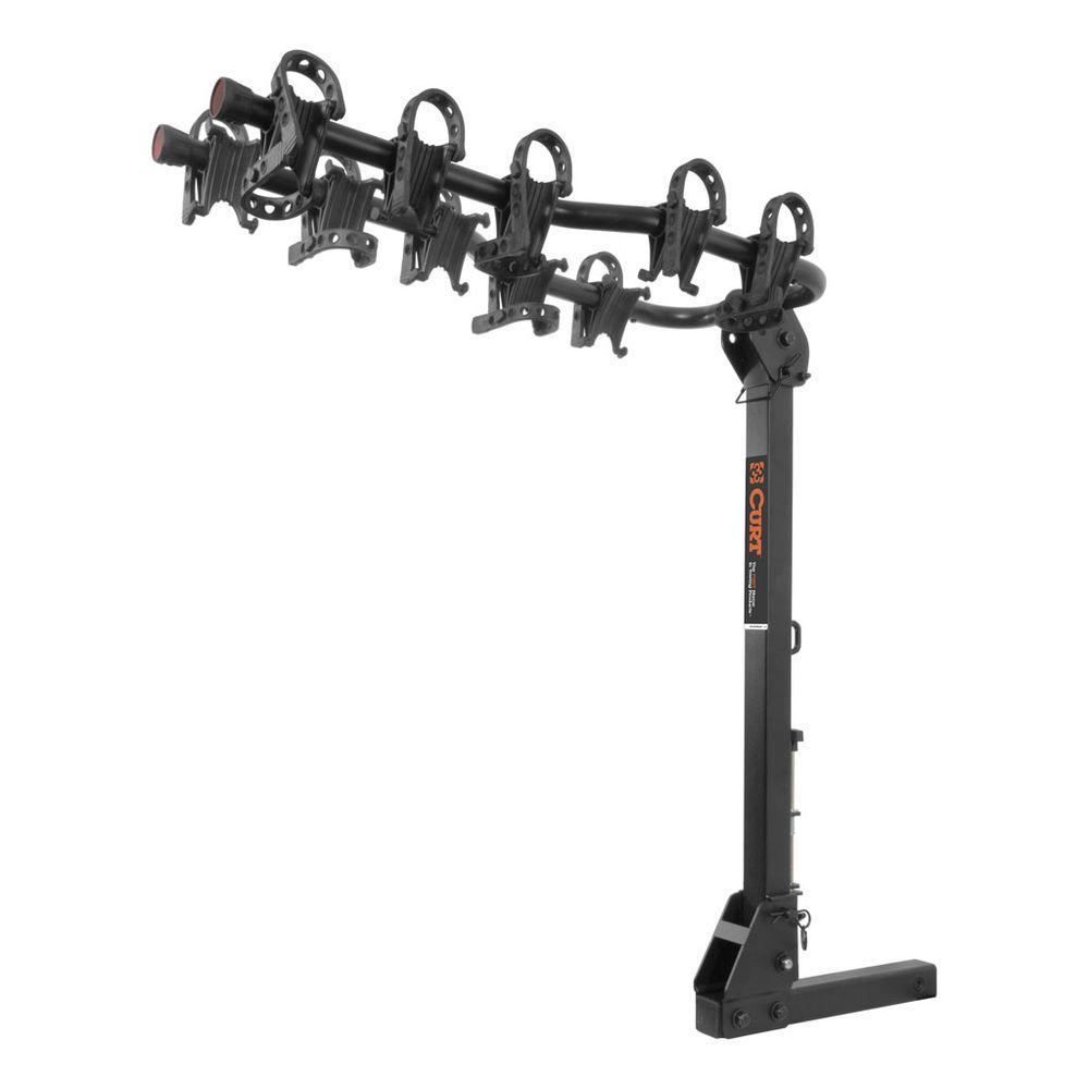 5-Bike Premium Hitch Mounted Bike Rack