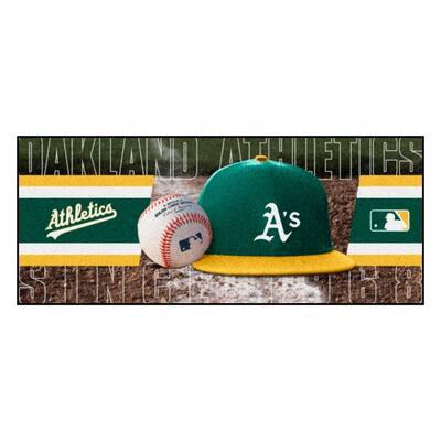 Oakland Athletics 3 ft. x 6 ft. Baseball Runner Rug