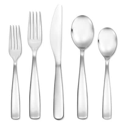 Plateau 20-Piece 18/0 Stainless Steel Flatware Set (Service for 4)