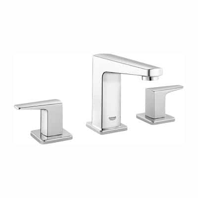 Tallinn 8 in. Widespread 2-Handle Bathroom Faucet in StarLight Chrome