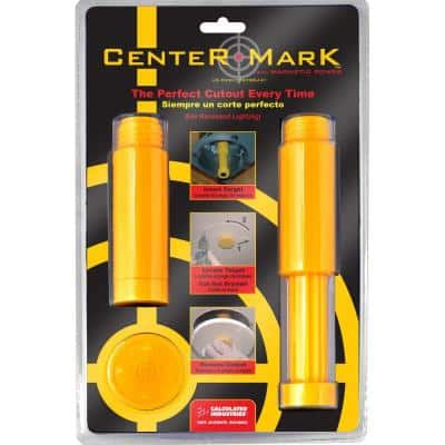 Center Mark Drywall Recessed Light Fixture Locator Tool Kit (3-Piece)