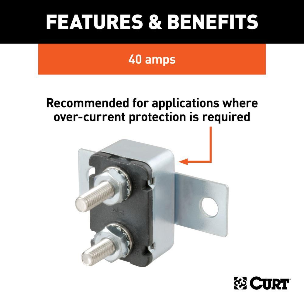 40-Amp Universal Circuit Breaker