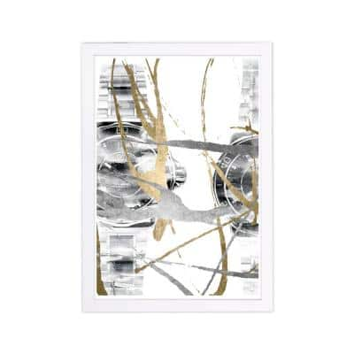"""Fashion and Glam """"Chronos II"""" Framed Art Print 19 in. x 13 in."""