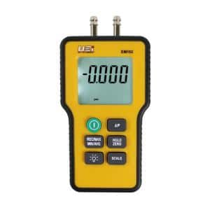 Dual Differential Digital Manometer with NIST Calibrations