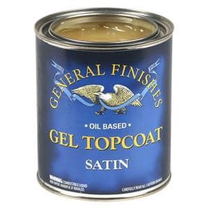 1 qt. Satin Oil-Based Urethane Gel Interior Topcoat