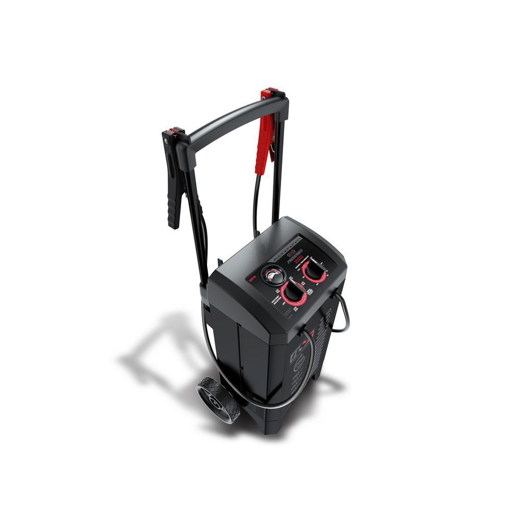 200 Amp/50 Amp/25 Amp/10 Amp, 12-Volt/24-Volt Manual Wheel Charger