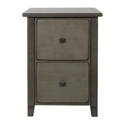 Hillsboro File Grey Wash Cabinet