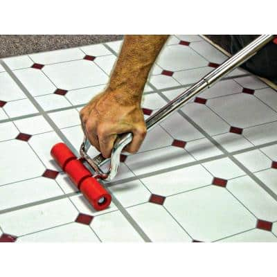 Extendible Floor Roller for Sheet Vinyl Flooring Installation