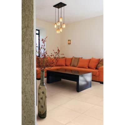 Monterosa Beige 20 in. x 20 in. Polished Porcelain Floor and Wall Tile (19.44 sq. ft./Case)