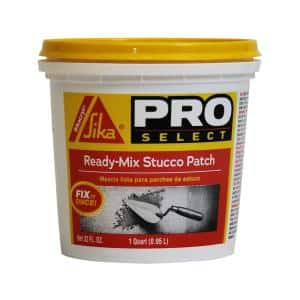 1 Qt. Ready-Mix Stucco Patch/Repair
