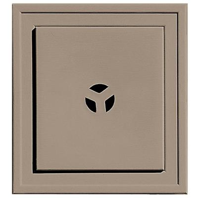 7.9375 in. x 7.9375 in. #095 Clay Slim Line Universal Mounting Block
