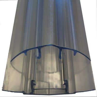 8 ft. Polycarbonate Roof Panel 8 mm Snap Cap