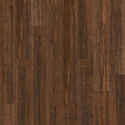 Waterproof Core Copperstone 1/4 in. T x 5-9/16 in. W x 36-1/4 in. L Wide Click Engineered Bamboo Flooring (14.06 sq. ft)