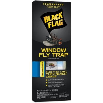 Window Fly Trap Transparent Adhesive (4-Count)