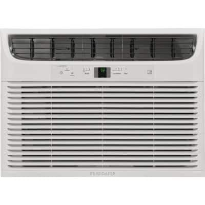 18,000 BTU Connected Window Air Conditioner with Slide Out Chassis in White