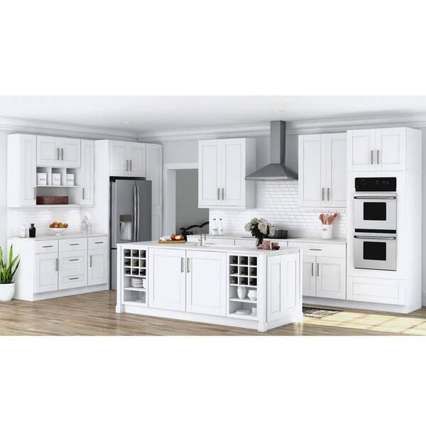 White Shaker Kitchen Cabinets