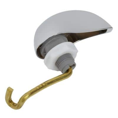 Left-Hand Trip Tank Lever Assembly, Polished Chrome