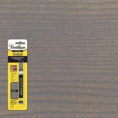 0.33 oz. Gray Wood Stain Furniture & Floor Touch-Up Marker (8-Pack)