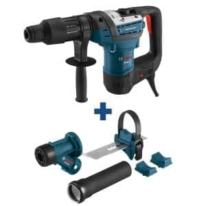 12 Amp 1-9/16 in. Corded Variable Speed SDS-Max Combination Rotary Hammer Drill, Bonus SDS-Max/Spline Dust Attachment