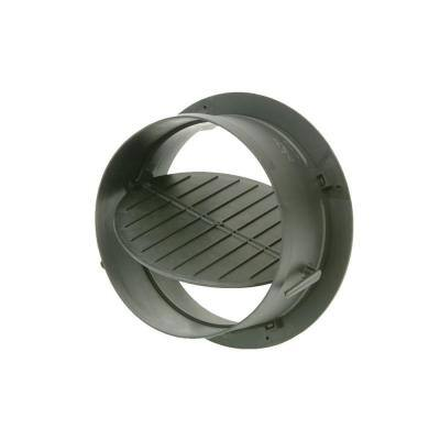 7 in. Take Off Start Collar with Damper for HVAC Duct Work Connections