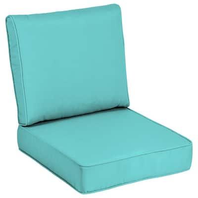 24 x 24 Sunbrella Canvas Aruba Outdoor Lounge Chair Cushion