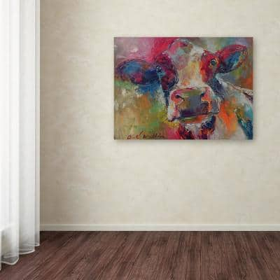 "35 in. x 47 in. ""Art Cow 4592"" by Richard Wallich Printed Canvas Wall Art"