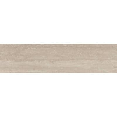Esplanade Pass 2.76 in. x 11.42 in. Polished Porcelain Single Bullnose Tile-Each