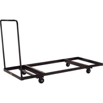 660 lb. Weight Capacity Folding Table Dolly For Horizontal Storage, Up To 72 in. Length