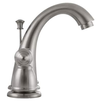 Hathaway 8 in. Widespread 2-Handle Bathroom Faucet in Satin Nickel