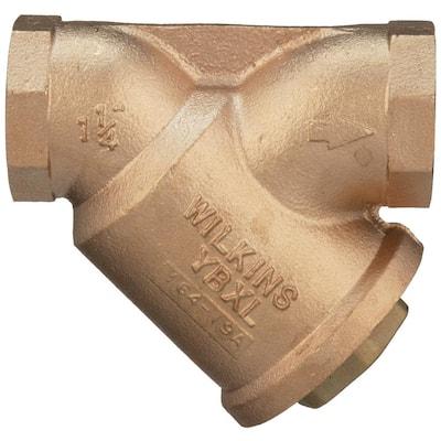 1-1/4 in. YBXL Bronze Wye Type Strainer