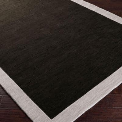 angelo:HOME Coal Black 8 ft. x 10 ft. Area Rug