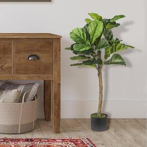 Deals on LCG Sales 3-Ft Fiddle Leaf Fig Tree in Pot