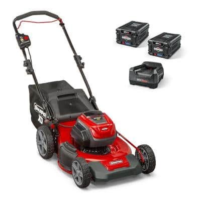 XD 82-Volt MAX Cordless Electric 21 in. Lawn Mower Kit with (2) 2.0 Batteries and (1) Rapid Charger