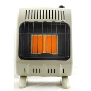 10,000 BTU Vent-Free Radiant Propane Heater with Thermostat