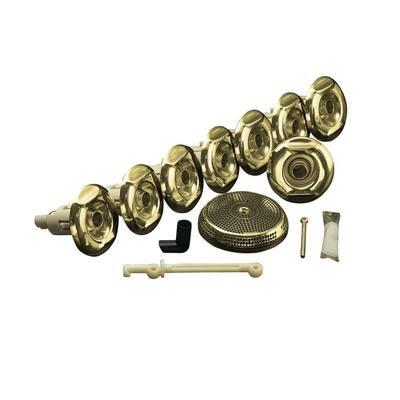 Flexjet Whirlpool Trim Kit in Vibrant Polished Brass