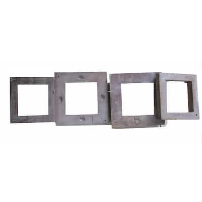 Slatestone Post Cover Converter Rings (4-Pack)