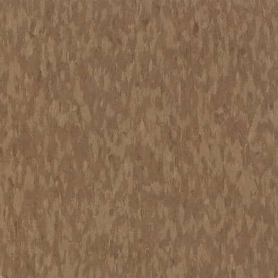 Imperial Texture VCT 12 in. x 12 in. Humus Standard Excelon Commercial Vinyl Tile (45 sq. ft. / case)
