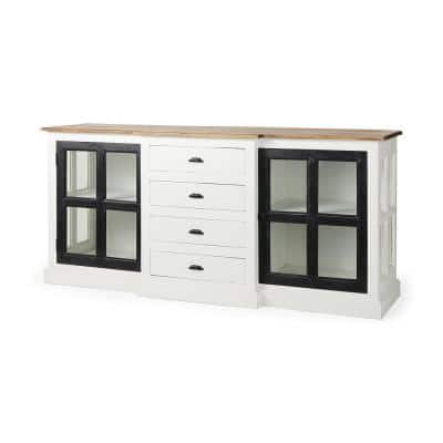 Bourchier White Sideboard with Drawers