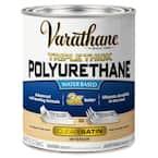 1 qt. Satin Triple Thick Polyurethane (2-Pack)
