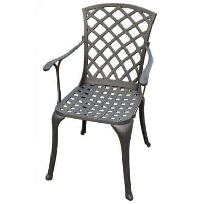 Sedona Cast Aluminum Outdoor Dining Chair (2-Pack)