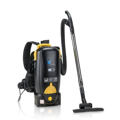 8 Qt. Lithium Battery Powered Backpack Vacuum with 2-Year Warranty