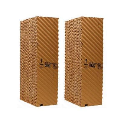 MAX COOL 40 in. W x 28 in. H x 8 in. D Replacement Evaporative Cooler Rigid Media