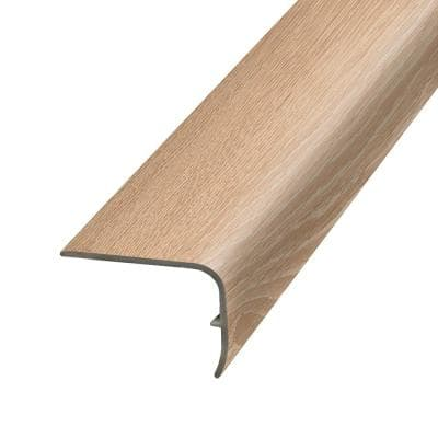 Wicker 1.32 in. Thick x 1.88 in. Wide x 78.7 in. Length Vinyl Stair Nose Molding